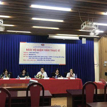 5 học viên cao học ngành Việt Nam học bảo vệ thành công luận văn Thạc sĩ